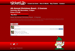Facebook Social plugins on Ticketlab events